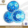 Backer di alluminio Diamond Grinding Cup Wheel per Granite