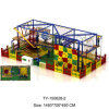 Alta qualidade Children Ropes Courses Adventure Popular Adventure Outdoor Wooden Climbing Frame para Sale