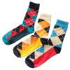 Form-Baumwollbesatzung-Socken der Männer (MA029)