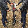 2 Tempos de Mão Gasolina Gasolina Furar gelo /terreno a semeadora/Manual do sem-terra do 63.342.7cc para cc