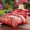 贅沢なタケシートの羽毛布団カバー綿のリネン寝具セット