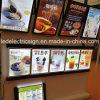 Esposizione del menu del segno della scatola chiara del LED per il negozio freddo delle bevande