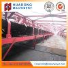 Ленточный транспортер добычи угля используемый в электростанции