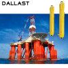 海難救助装置の多段式3/4/5本の段階の棒油圧オイルシリンダー