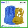 Прессформа глины Fondant силикона венчания для украшения торта