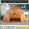 ضخمة 12 أشخاص [ترمبولين] يخيّم أسرة مستديرة قبّة خيمة