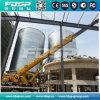 Silo do armazenamento da serragem da grande capacidade com aparelho de manutenção do material