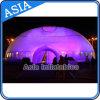 LED che illumina la tenda gonfiabile della cupola, tenda foranea gonfiabile di doppio strato