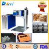Plástico da máquina da marcação do laser do CO2 do CNC de China, papel para a venda