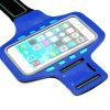 Caisse pulsante fonctionnante de brassard de sport de la nuit DEL pour l'iPhone 6/7