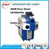 Joyería 200W del punto láser de la máquina de soldadura láser joyería Reparación Soldador de Oro Cobre Plata