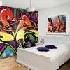 Eco-Friendly высокое разрешение воодушевило печатание настенных росписей стены собственной личности графиков слипчивое