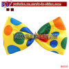 Jumbo Fantasias Acessory Bow tie Clown parte de Alimentação (BO-6006)