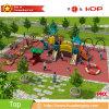 Fabricante de serie al aire libre barata de encargo de la fábula del parque de atracciones de la diapositiva del patio