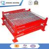 Стальной Stackable паллет/изготовленный на заказ стальные контейнеры ячеистой сети коробки/хранения
