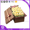 Papier en cuir Kraft Packaging Round Rectangle Square Box