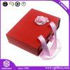 Rectángulo de empaquetado del regalo de la cartulina de la ropa del Bowknot de la cinta