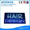 Muestra brillante del diseño LED del pelo del rectángulo de Hidly alta