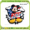Ricordo di gomma molle personalizzato Florida (RC- Stati Uniti) dei magneti del frigorifero dei regali promozionali