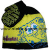 Cute Embroiderey Kid Knitted Hat and Glove (JRK202)