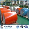 Bobina di alluminio ricoperta colore per il materiale della costruzione di edifici