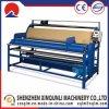 máquina de pano do rolo 0.75kw para a medida de couro do PVC