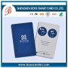 Cartão da identificação do controlo de acessos do Em do plástico 125kHz da impressão de Customed