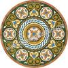 Het Medaillon van de steen, Marmeren Medaillon (sk-3362)