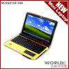 Notizbuch/Minigelb des laptop-R89