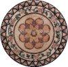 Natuurlijk Marmeren Mozaïek/Medaillon/Patroon (RM041)