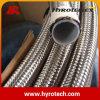 Tuyau de teflon compliqué tressé de fil de l'acier inoxydable 304
