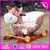 Equilíbrio de madeira Balançando um brinquedo, balançando de madeira quente Toy, Giocattolo um Dondolo, Madeira Crianças Viagem de brinquedos, balançando um brinquedo para o bebé W16D081