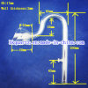 ガラスアウトレットの配水管のアクアリウムのガラスアウトレットの配水管の高いホウケイ酸塩の物質的なアクアリウムガラスの管