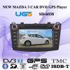 Jugador ancho estupendo del coche DVD GPS de la pantalla de la pulgada de HUGO 8 para Mazda 3 (SD-6038)