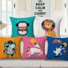 Netter Löwe-Kaninchen-Digital gedruckter Kissen-Deckel für Kinder (35C0280)