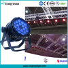 Indicatore luminoso impermeabile esterno della fase di 18PCS 10W RGBW 4in1 LED