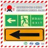 Pet/PVCの写真の発光性の反射フィルムの道の指導の印(FG301)