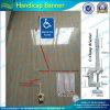 Drapeau Handicapped de avertissement fait sur commande de chaise de roue (T-NF15P07006)