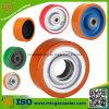 Roda de rodízio de poliuretano resistente para trole de mão industrial