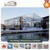 투명한 지붕과 유리 측벽을%s 가진 결혼식 큰천막 천막
