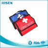 Förderndes rotes Blau-Erste-Hilfe-Ausrüstung mit Griff