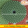 4  лепесток Diamond Wet Polishing Pad для Granite Stone
