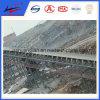 Leeglopers van het Staal van de Rol van de Transportband van de hoge snelheid de Lopende