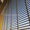 Diviseurs de pendaison/partition métallique à mailles métalliques décoratifs mur