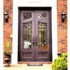 Moderne Stahllandhaus-u. Wohnungs-elegante Gebäude-Vorderseite-doppelter Eintrag-Türen