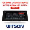 Grande automobile DVD 8.8 dello schermo di Witson BMW  per BMW 1 serie F20/F21 (2017)