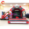 4,5X4m/15X13FT Spiderman Inflatable Bouncer Faites glisser le château de rebond Combo avec la diapositive