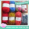 Lado de poliéster tricot de lã de algodão lenços de fios de viscose