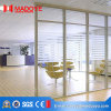 Puerta deslizante barata de la partición de cristal del precio de la calidad superior para la oficina