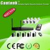 Ökonomischer 1MP im Freien 200m 4CH NVR WiFi Installationssatz (WIFID420RH100)